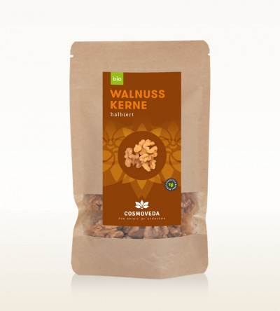 Organic Walnut kernels halved 125g