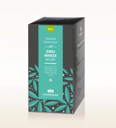 Organic 3 Mint Tea 25 x 1.8g