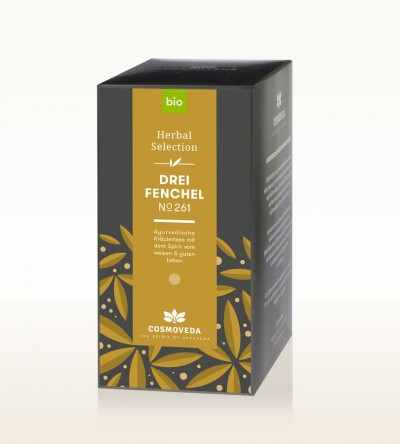 Organic 3 Fennel Tea 25 x 1.8g