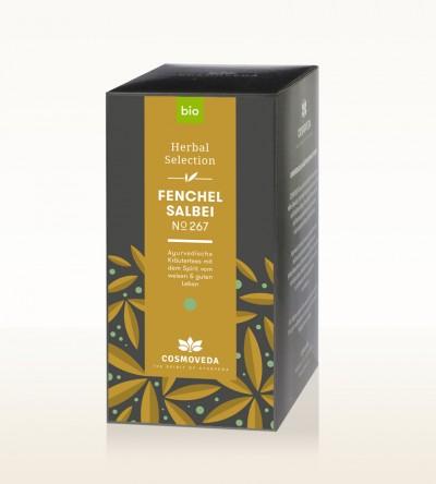 Organic Fennel Sage Tea 25 x 1.8g