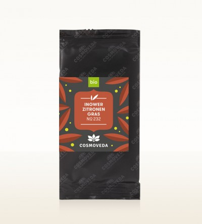 Organic Ginger Lemongrass Tea 1,8g