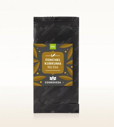 Organic Fennel Turmeric Tea 1,8g