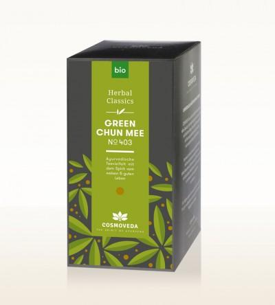 Organic Green Chun Mee Tea 25 x 1.8g