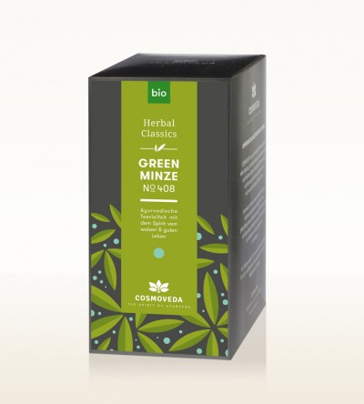 Organic Green Minze Tea 25 x 1.8g