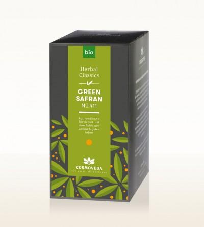 Organic Green Safran Tea 25 x 1.8g