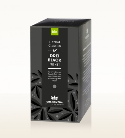 BIO 3 Black Tee 25 x 1,8g