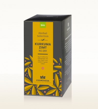 Organic Turmeric Cinnamon Tea 25 x 1.8g