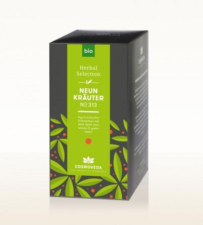 Organic 9 Herbs Tea 25 x 1.8g