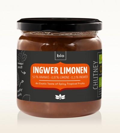 BIO Ingwer Limonen Chutney 450g