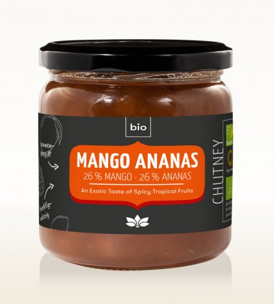 BIO Mango Ananas Chutney 450g