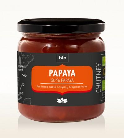 Organic Papaya Chutney 450g