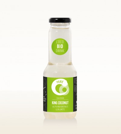 Organic Drink King Coconut Pure 300ml