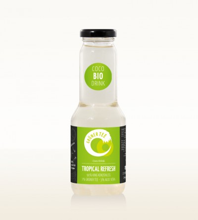 BIO Drink Tropical Refresh - Grüner Tee 300ml