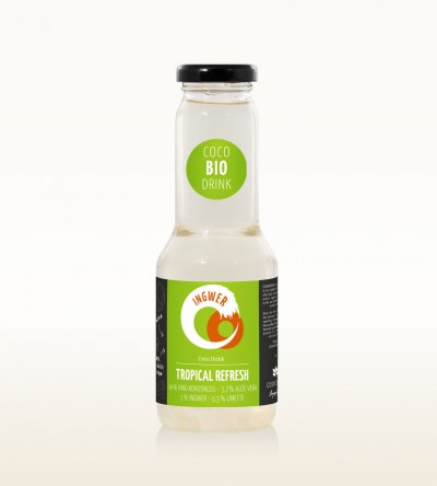 Organic Drink Tropical Refresh - Ginger Lime 300ml