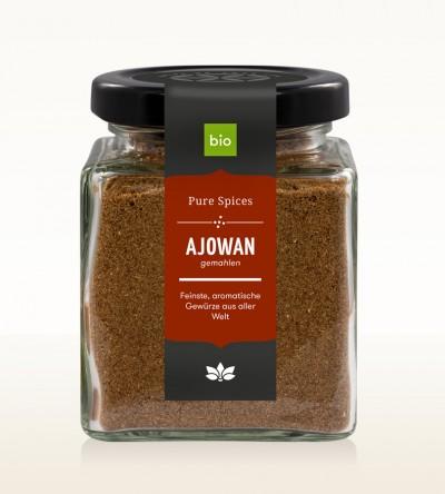 Organic Ajowan ground glass 80g