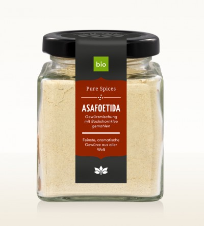 Organic Asafoetida glass 80g