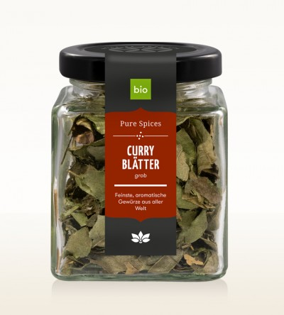 Organic Curry Leaves coarse glass 10g