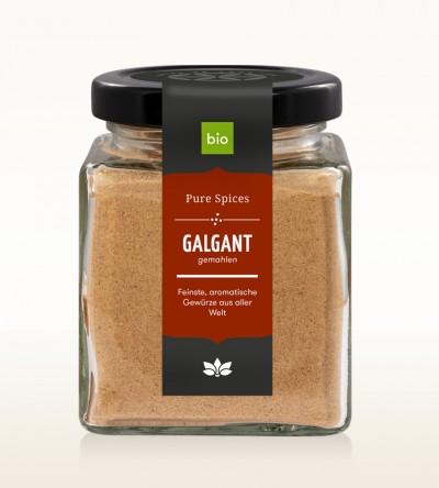 Organic Galangal ground glass 70g