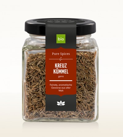 Organic Cumin whole glass 80g