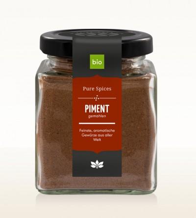 BIO Piment gem. Glas 80g