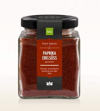 BIO Paprika rot edelsüss gem. Glas 100g