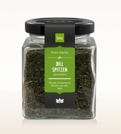 Organic Dill Tips glass 30g