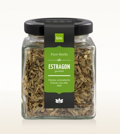 Organic Tarragon shredded glass 25g