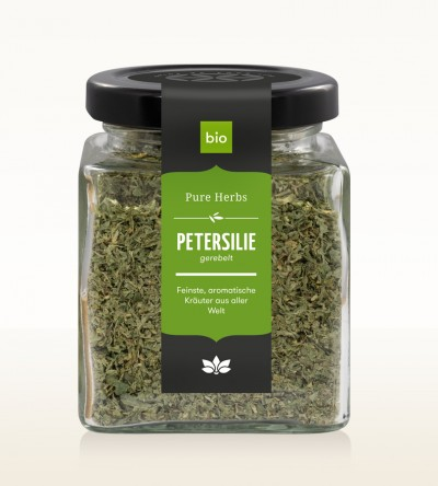 Organic Parsley shredded glass 25g