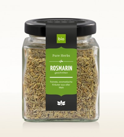 Organic Rosemary cut glass 60g