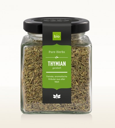 Organic Thyme shredded glass 50g