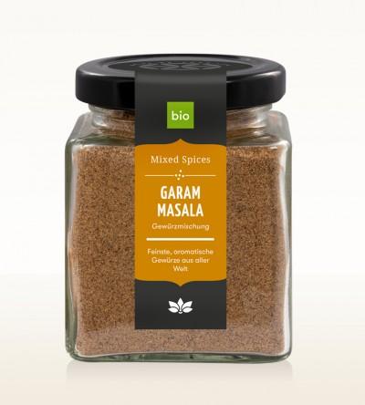 Organic Garam Masala glass 90g