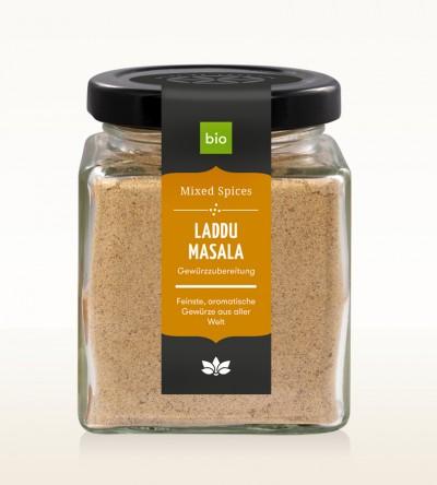 Organic Laddu Masala glass 100g
