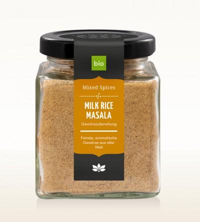 BIO Milk Rice Masala Glas 100g