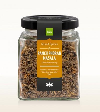 Organic Panch Phoran glass 80g