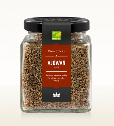 Ajowan ganz Fair Trade Glas 80g