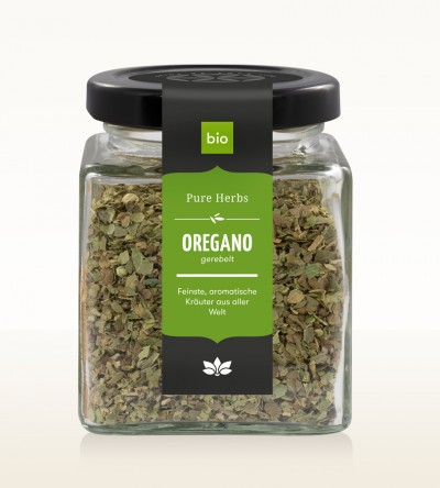 Organic Oregano shredded glass 50g
