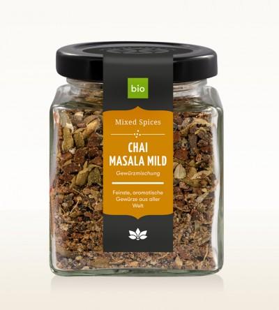 BIO Chai Masala mild Glas 90g