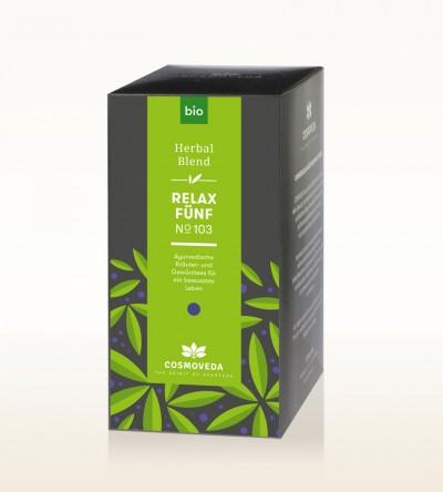 Organic Relax 5 Tea 25 x 1.8g
