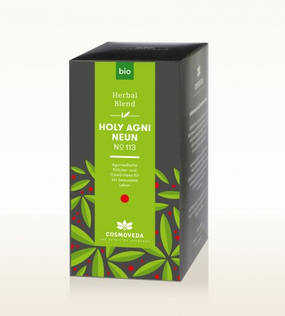 Organic Holy Agni 9 Tea 25 x 1.8g