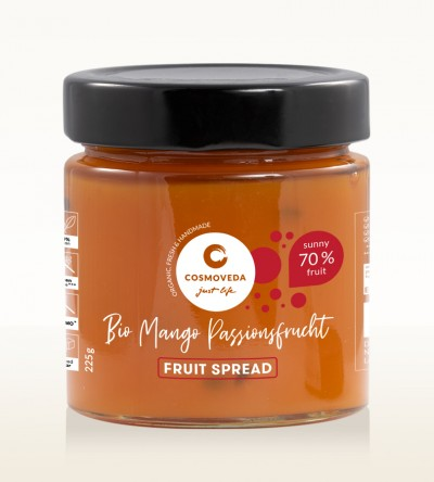 Organic Mango Passion Fruit Spread 225g