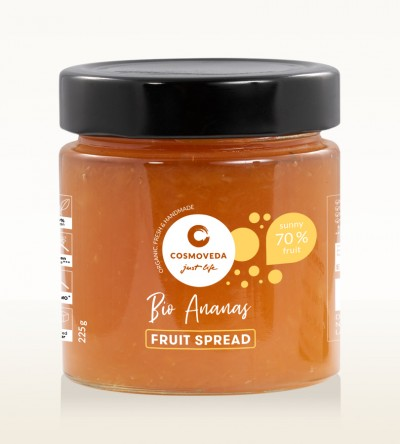 Organic Pineapple Fruit Spread 225g