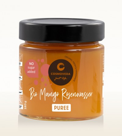 Organic Mango Rosewater Puree 185g