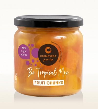 Organic Tropical Mix Chunks 400g