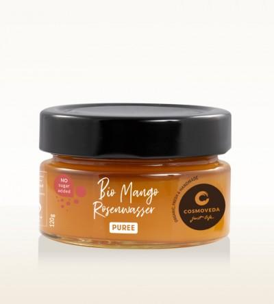 Organic Mango Rosewater Puree 120g