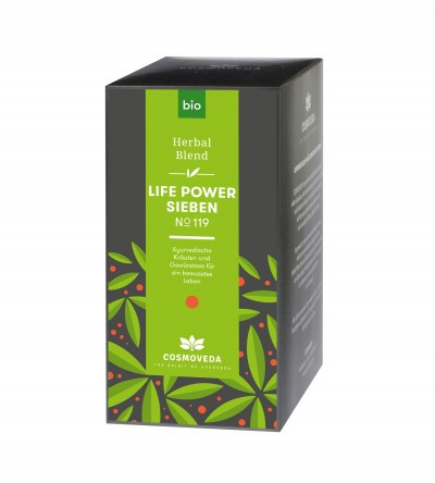 Organic Life Power 7 Tea 25 x 1.8g
