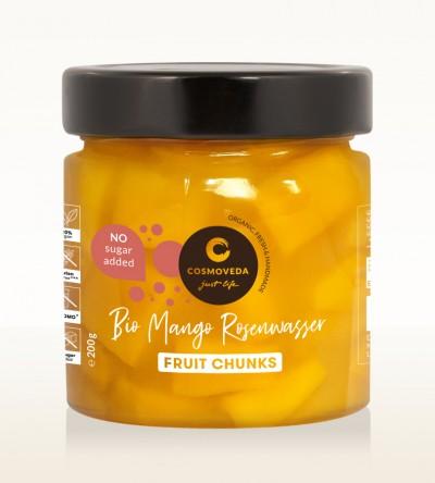 Organic Mango Chunks Rosewater 200g