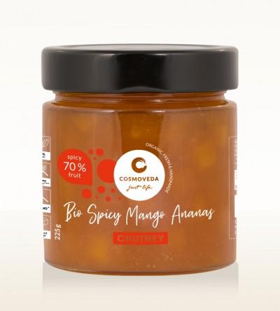 Organic Spicy Mango Pineapple Chutney 225g