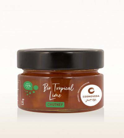 Organic Tropical Lime Chutney 135g