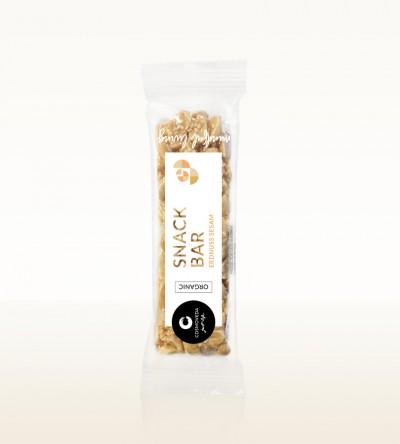 Organic Snack Bar Peanut Sesame 35g
