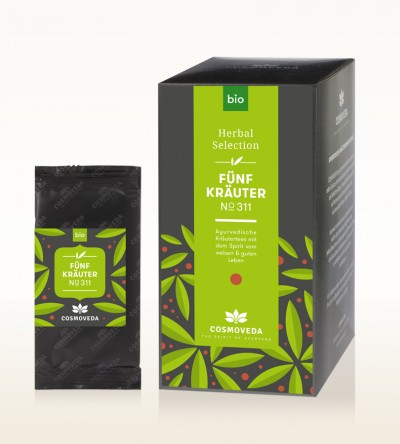 Organic 5 Herbs Tea